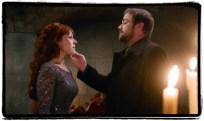 Crowley banishes Rowena