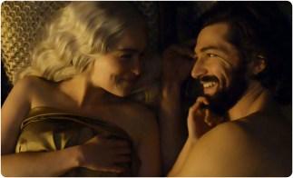 Daenerys Daario Game of Thrones The Gift