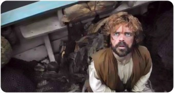Tyrion Lannister look up Game of Thrones Kill the Boy