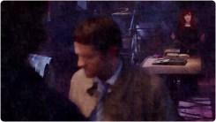 Rowena watches Cas Sam Supernatural The Prisoner