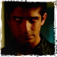 Scott red eyes dark Teen Wolf Ouroboros