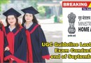 UGC Guideline for Exam