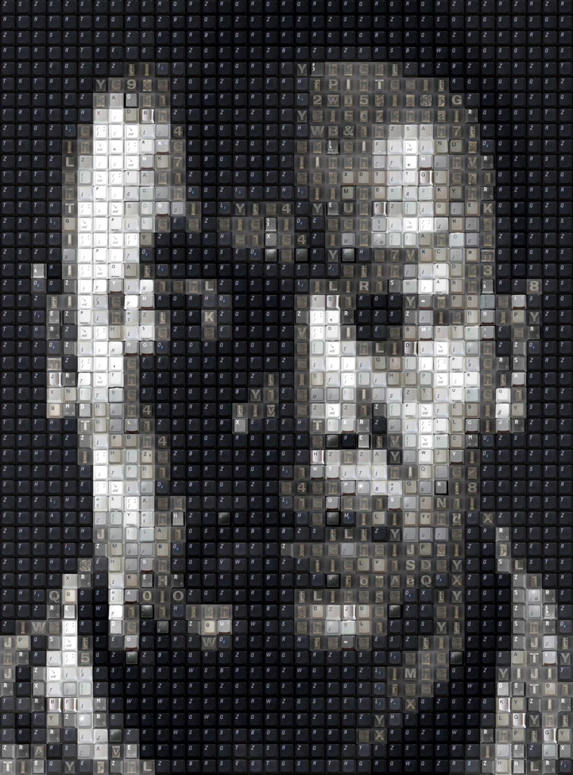 Keyboard Key Pixel Portraits Workbynight Wbk The