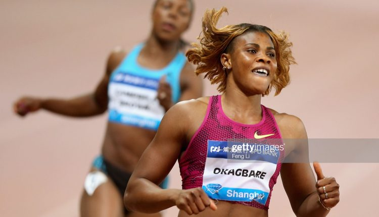 Blessing Okagbare will be seeking her first win in Stanford.