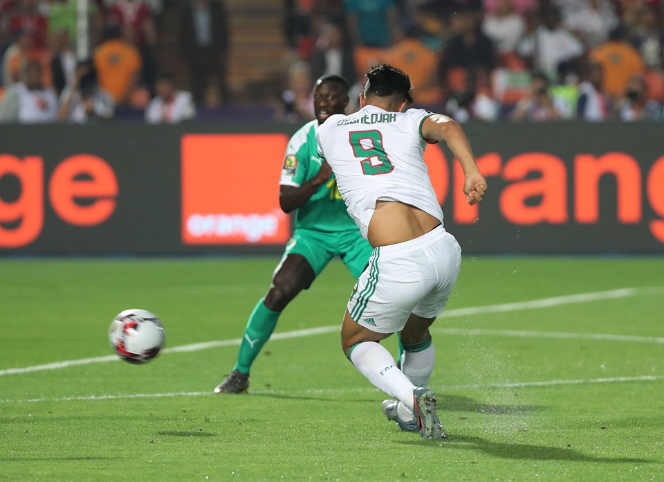 A 2nd minute strike from Bounedjah decided the final