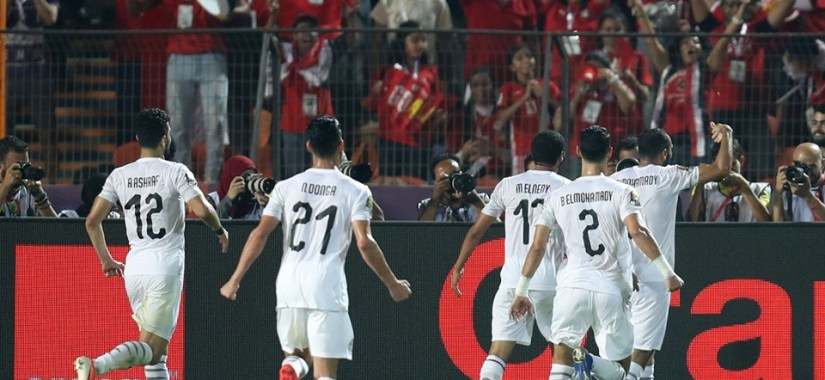 Egypt saw off a game Uganda in Cairo