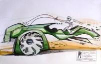 Justin Sorum - Fresh Mint Green- Round2