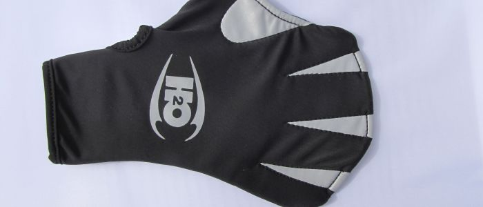 H2Odyssey Max webbed surfing Glove showing lycra back