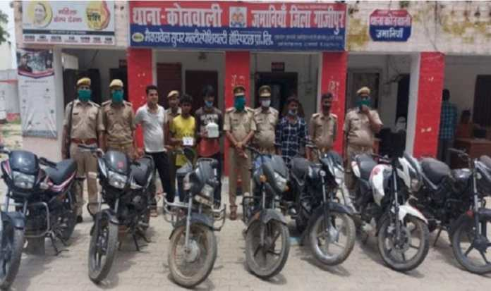Three vicious thieves arrested, seven stolen bikes recovered