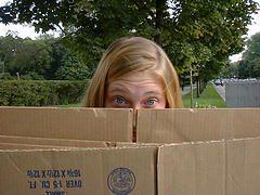 cardboard box 20 Things I never throw away