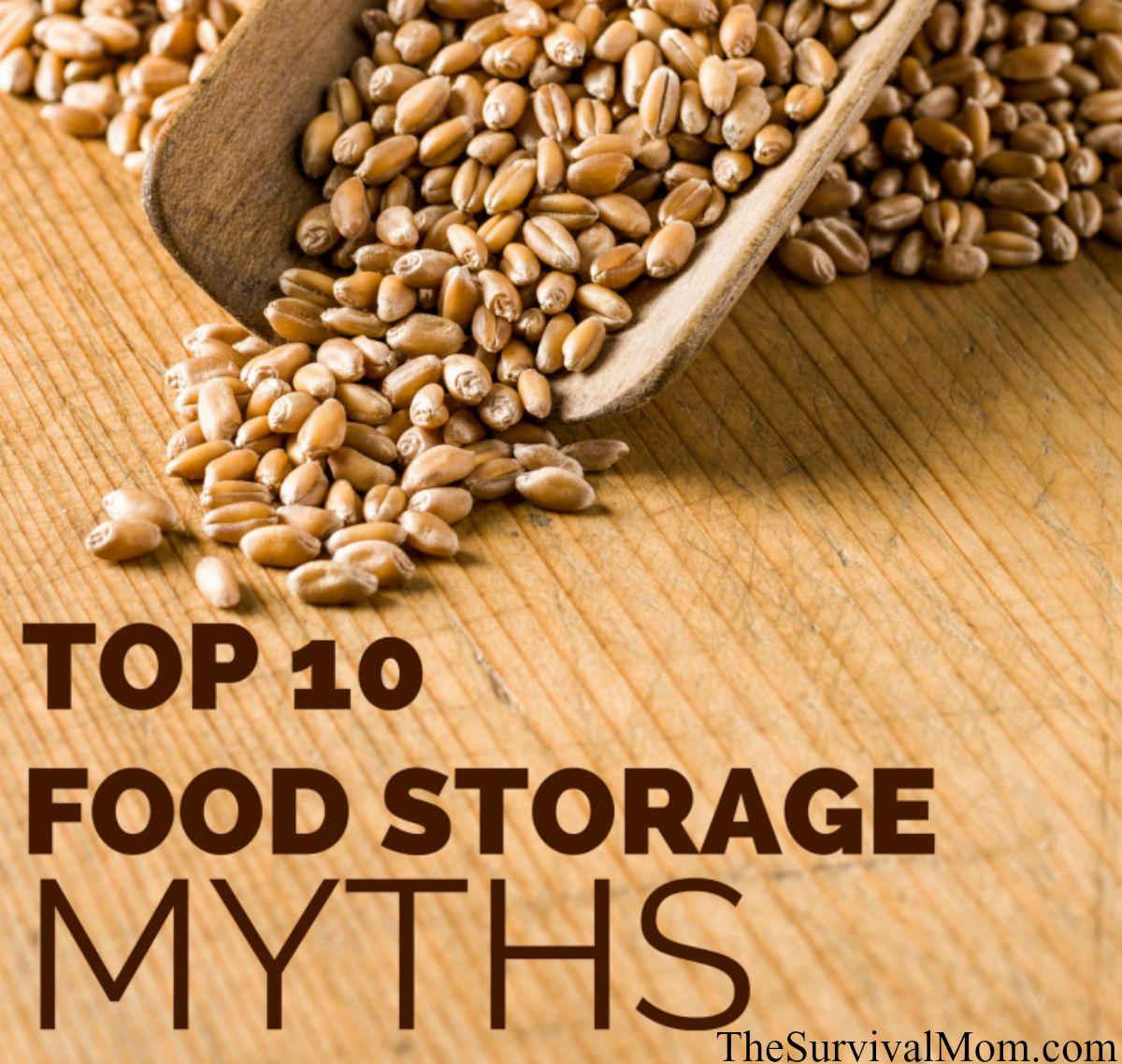 food storage myths
