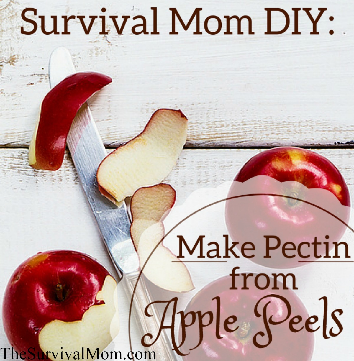 make pectin from apple peel