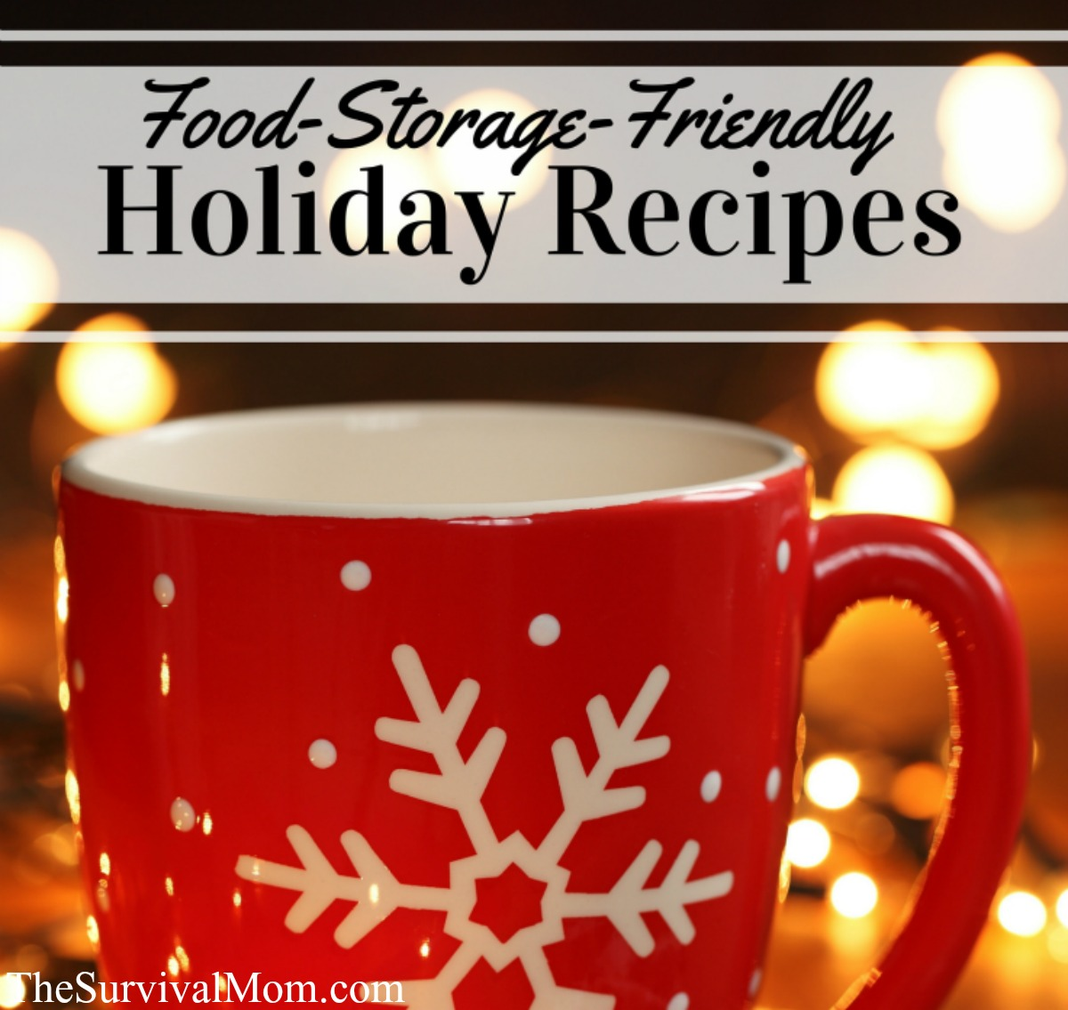 holiday recipes FB size