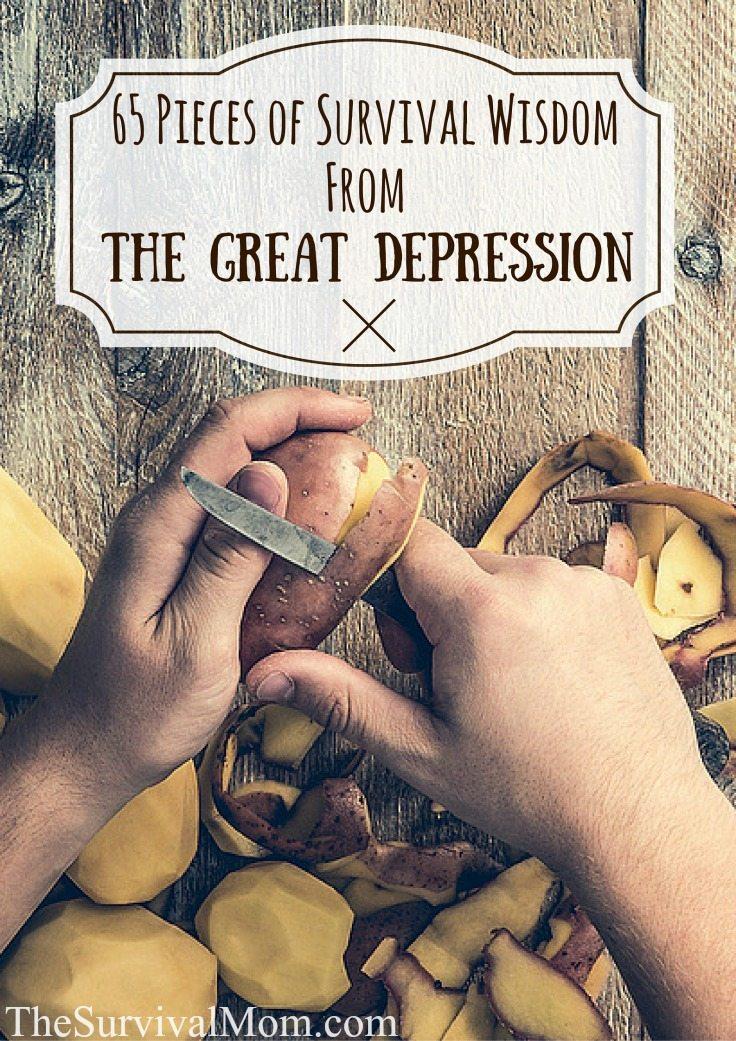 survival wisdom great depression