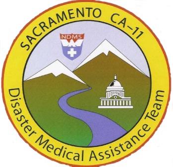 Jim Acosta's DMAT team logo