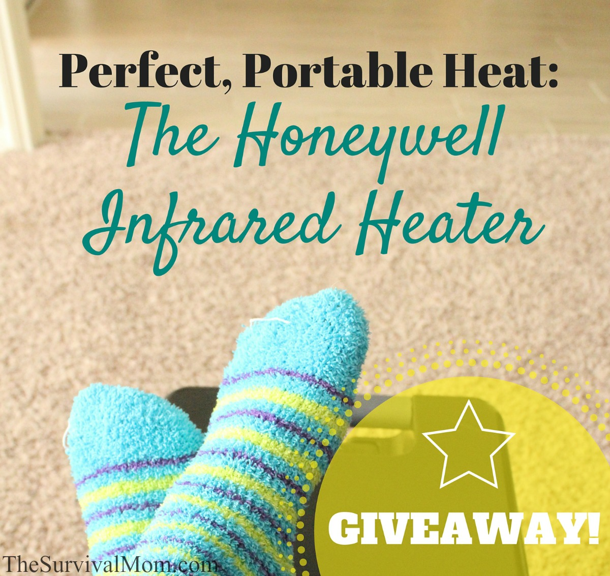 Perfect, Portable Heat: The Honeywell Infrared Heater via The Survival Mom