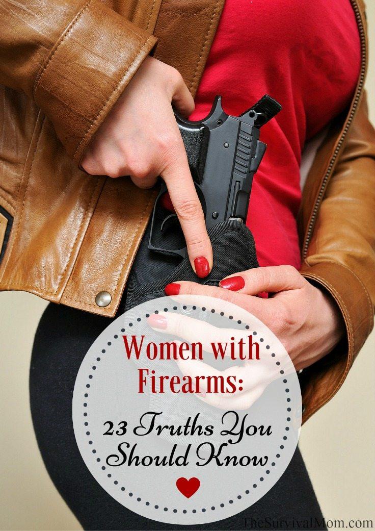 Women with Firearms-