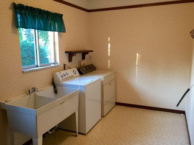 Laundry room part 2.
