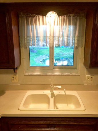 Hate the sink, love the view.