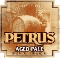Petrus Aged Pale (Blonde), 330ml, 7.3% or 2.4 units - Oak-aged for 20 months, dry and characterful