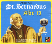 St Bernadus 12 (Abbaye), 330ml, 10.0% or 3.3 units - Rich and dark