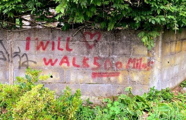 Camino De Santiago: Uplifting Graffiti