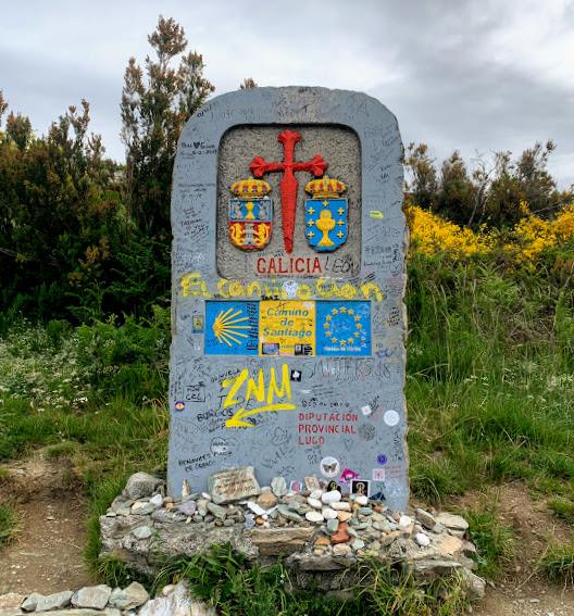 Camino De Santiago: Galicia Border Marker
