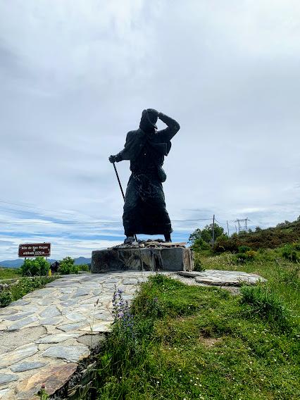 Camino De Santiago: Alto de San Roque