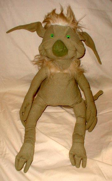 Unproduced Salacious Crumb Plush Toy