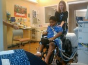 Xzavier Davis-Bilbo was paralyzed by a distracted driver