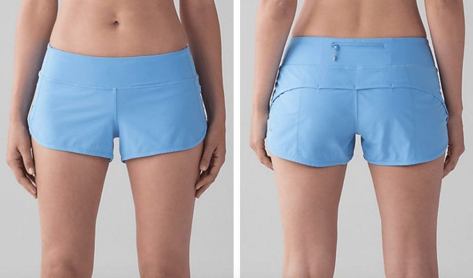 Aero Blue Speed Shorts