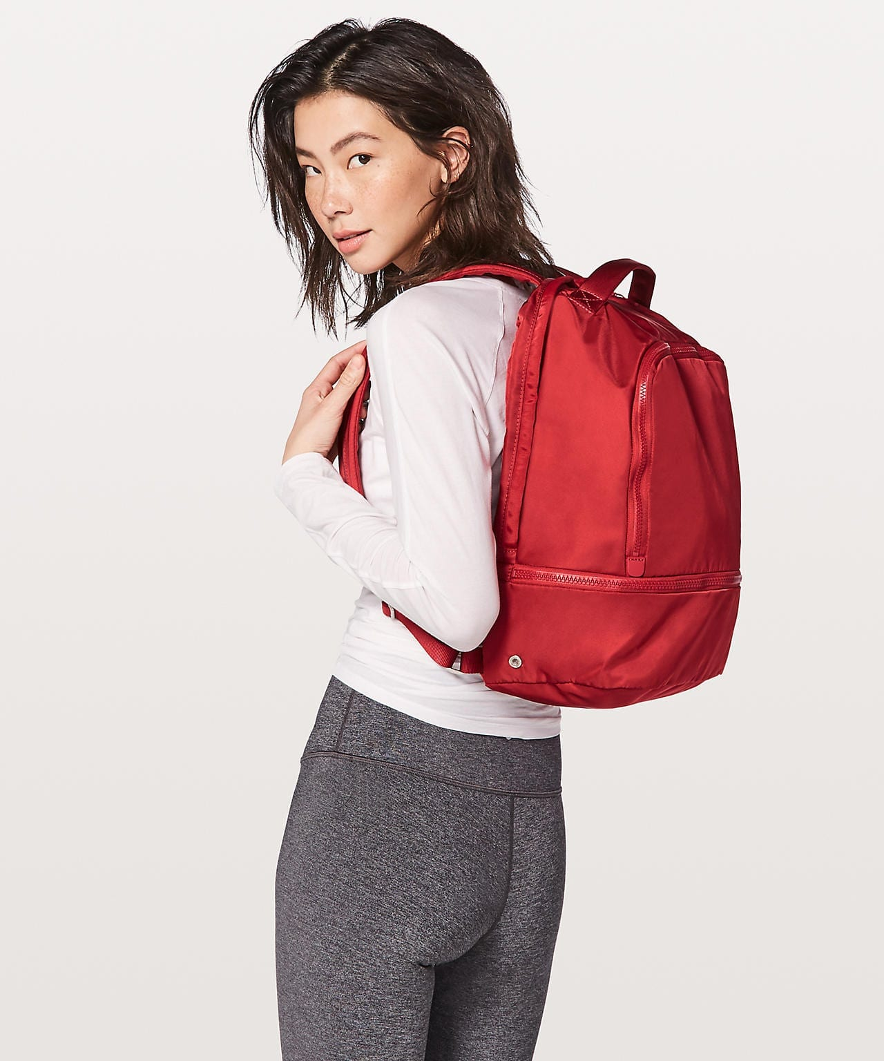 City Adventurer Backpack - Persian Red