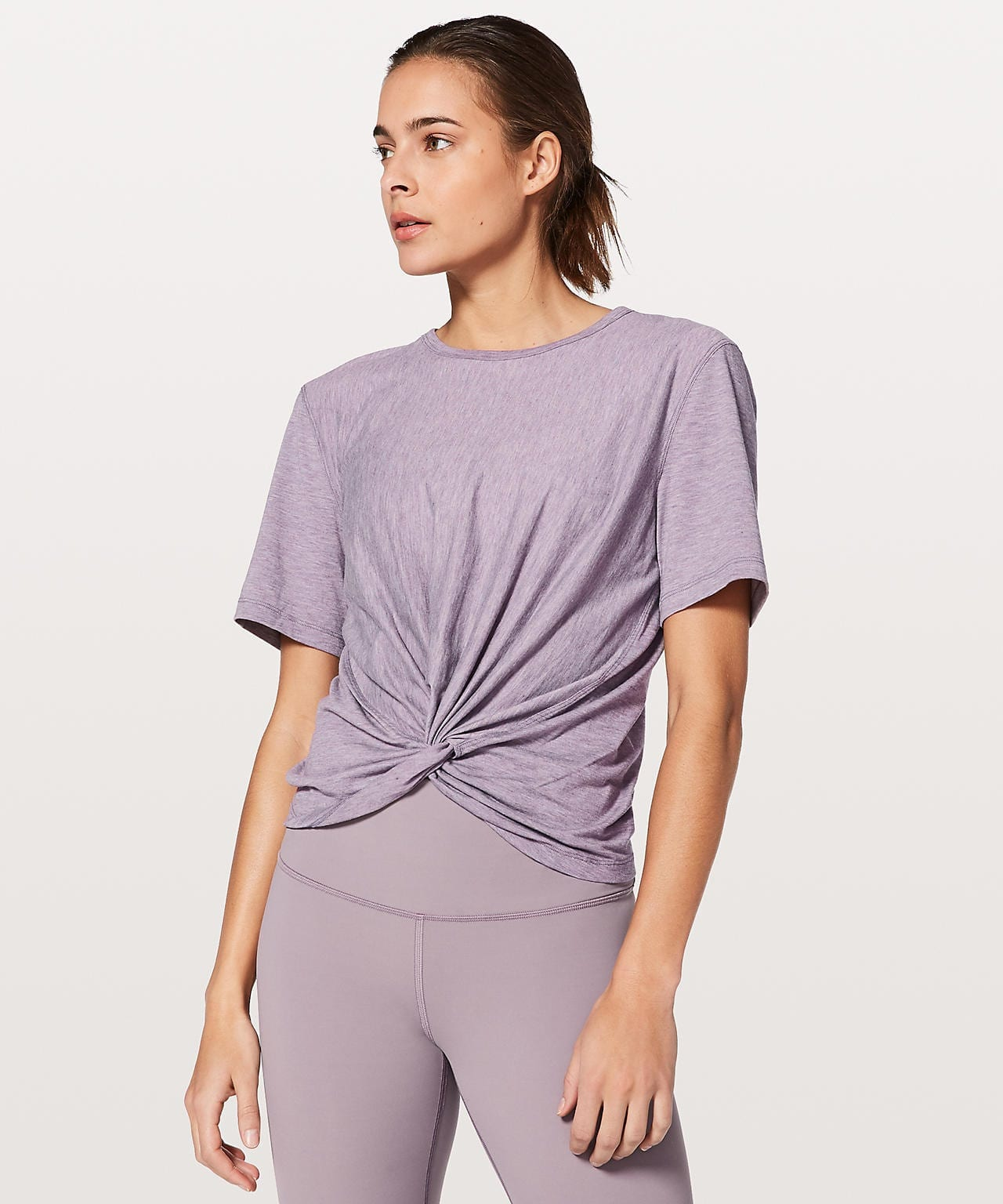 Crescent Tee Silver