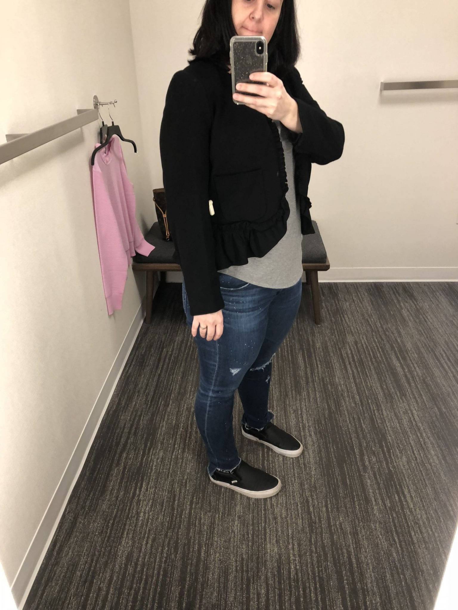 J. Crew The Going Out Blazer With Ruffles