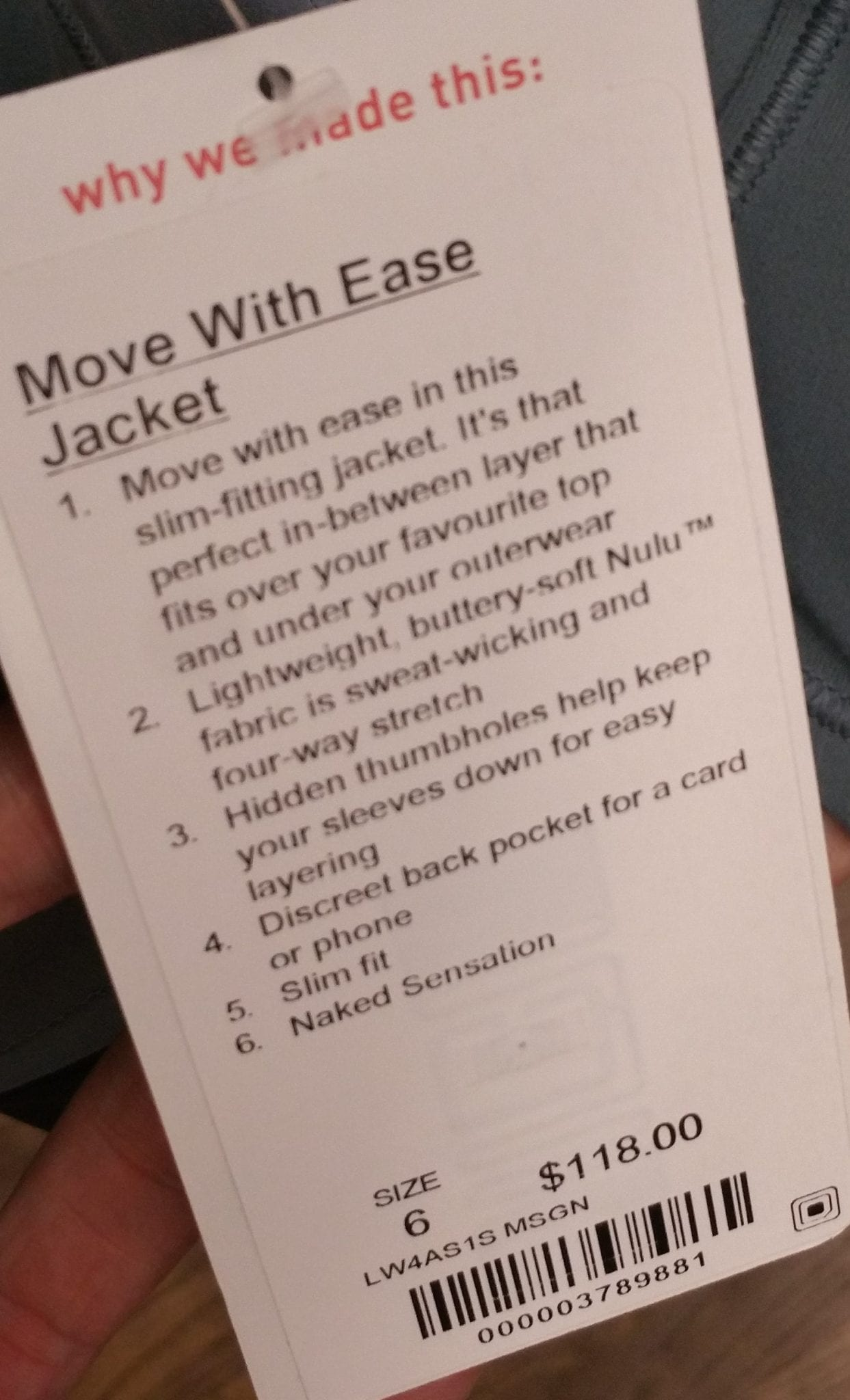Move With Ease Jacket