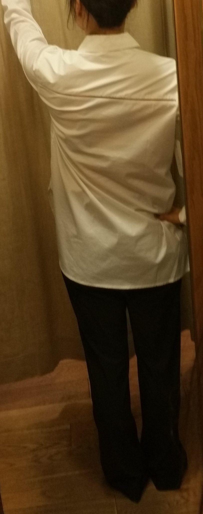 Athleta Marinwood Poplin Shirt