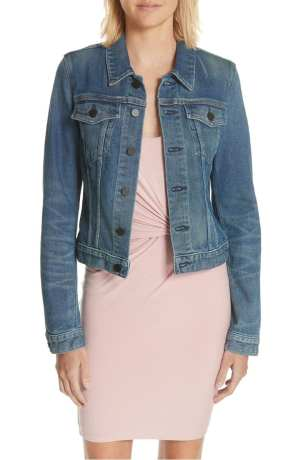 Axle Denim Jacket T BY ALEXANDER WANG