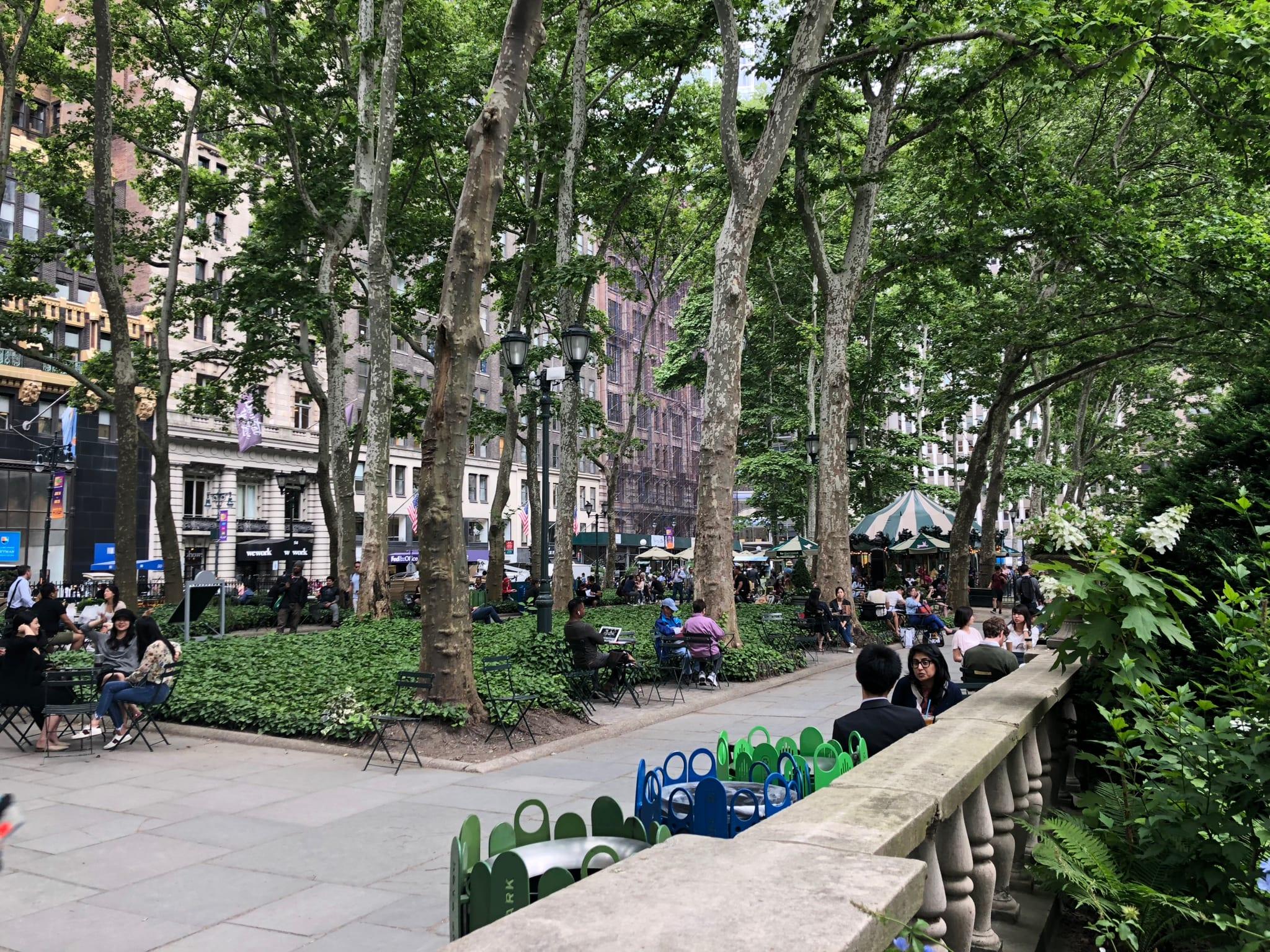 Bryant Park, Manhattan NY