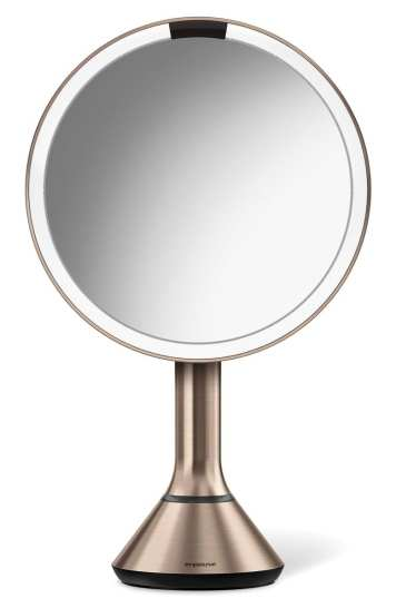 simplehuman Eight Inch Sensor Mirror with Brightness Control