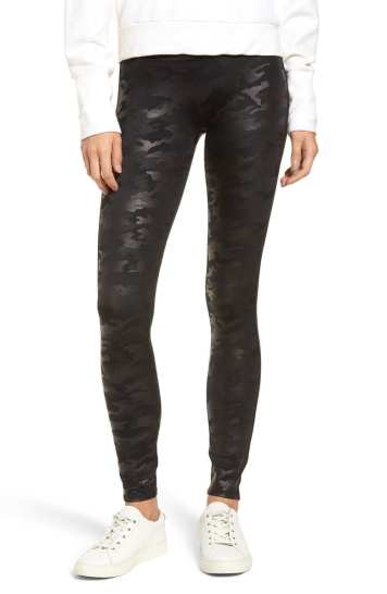 Camo Faux Leather Leggings Spanx 2018 Nordstrom Anniversary Sale