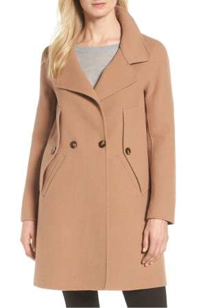 Double Face Wool Blend Cape Coat SOIA & KYO 2018 Nordstrom Anniversary Sale