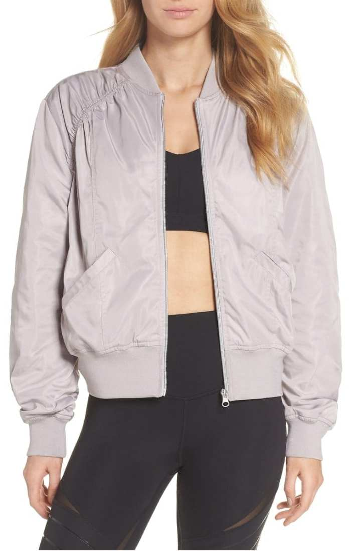 Zella Luxury Bomber Jacket