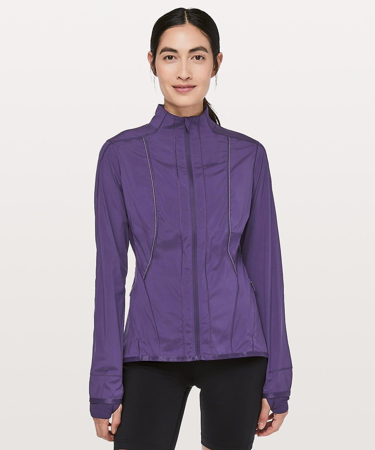 Laser Speed Jacket, Dark Court Purple, Lululemon Upload