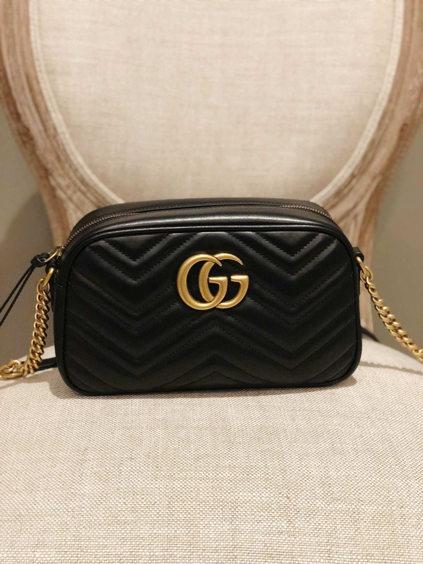 Gucci Marmont Small Matelasse Shoulder Bag Uncategorized