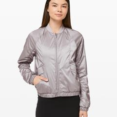 Above The Clouds Jacket Dark Chrome