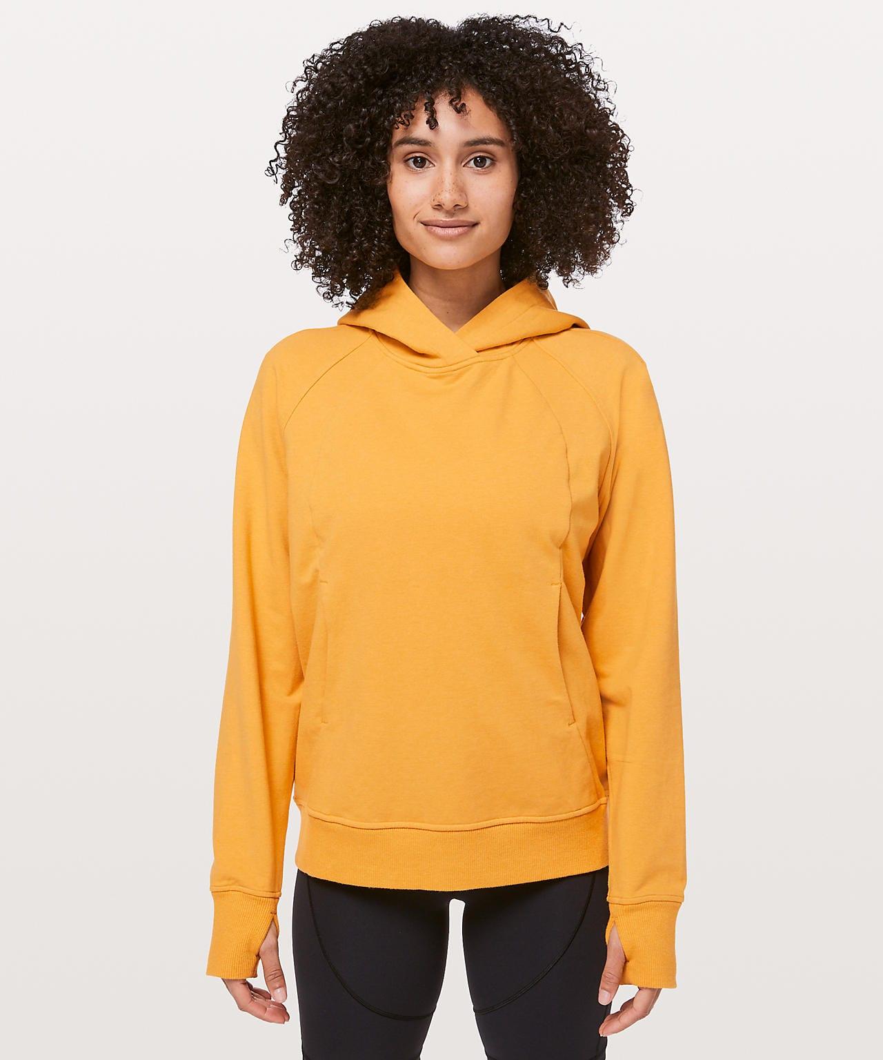 Scuba Pullover, heathered honey lemon, Lululemon Upload