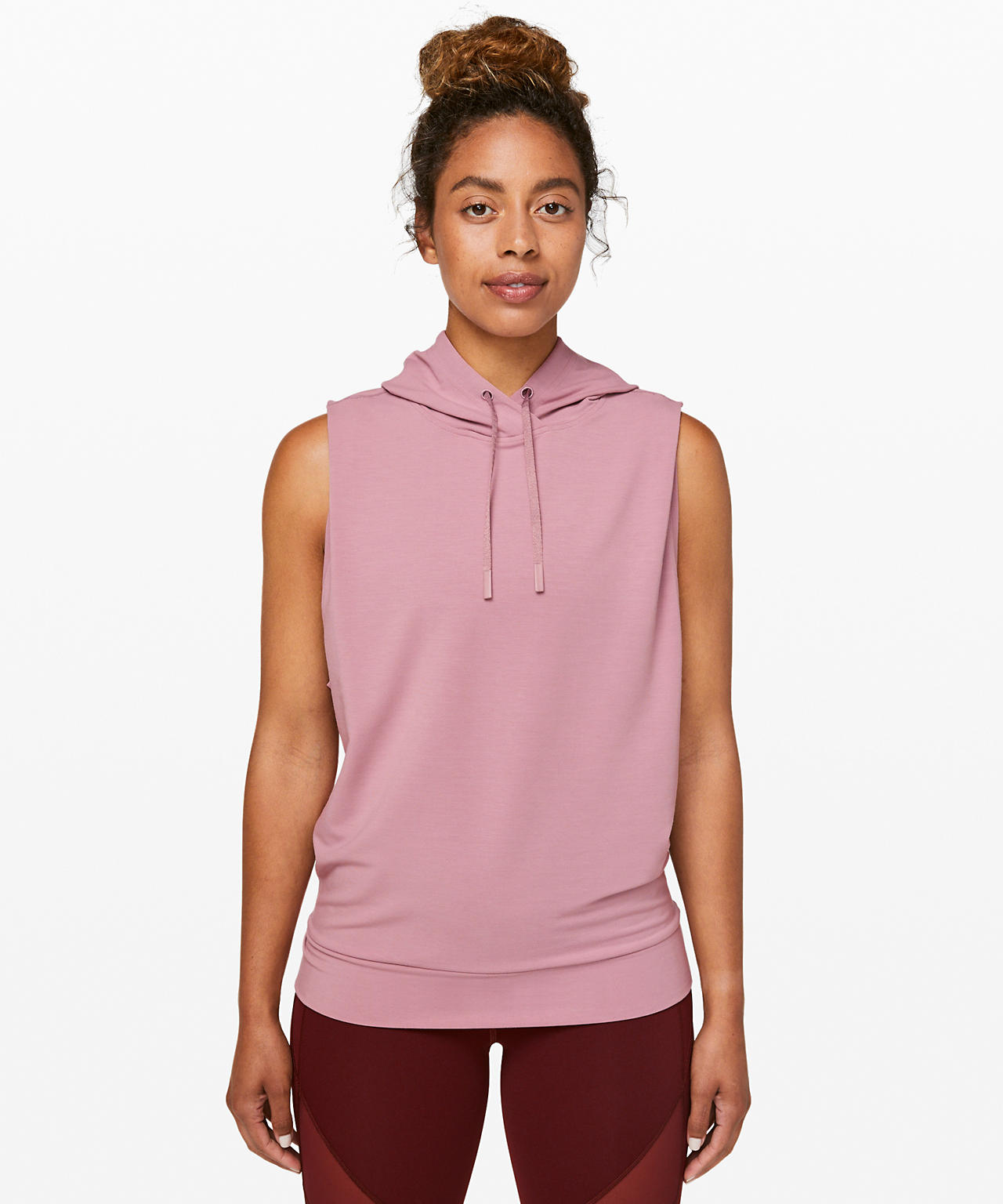 Stronger as one sleeveless hoodie