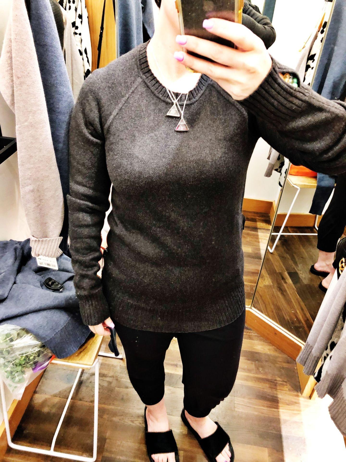 Lululemon Try-Ons Still Lotus Sweater Reversible