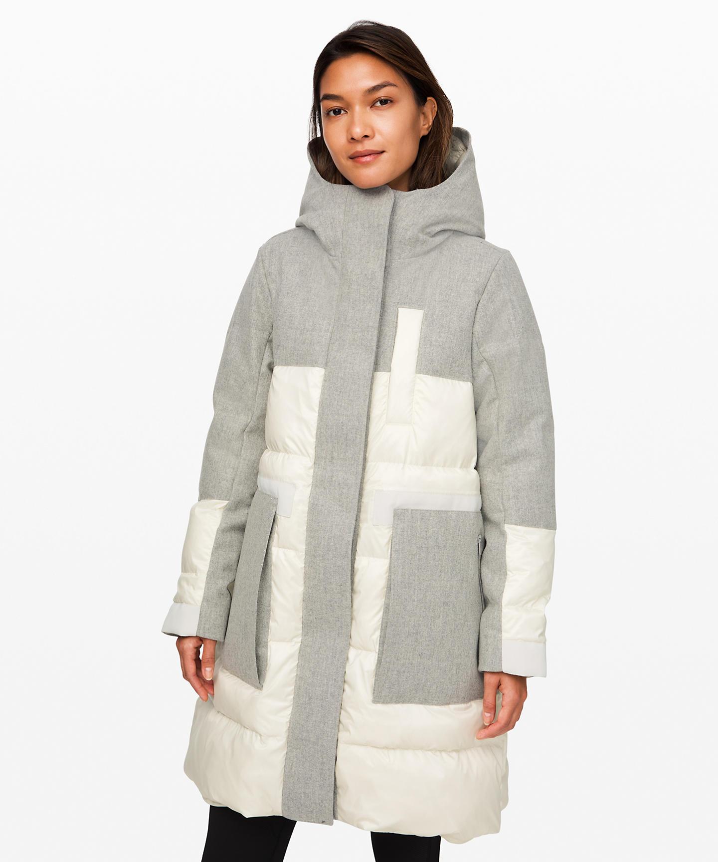 Winter Chill Wool Parka