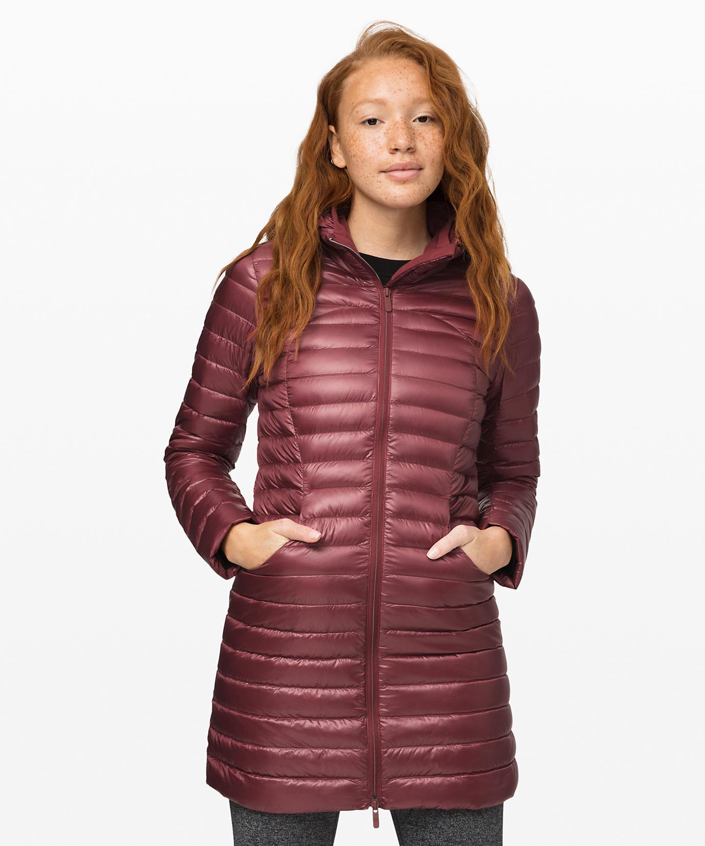 Pack It Down Long Jacket  Shine, Last Lululemon Upload For 2019